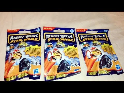 Blind Bag Mystery 005 Angry Birds Star Wars Mini Figures