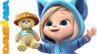 😜 Nursery Rhymes & Kids Songs   Baby Songs from Dave and Ava 😜