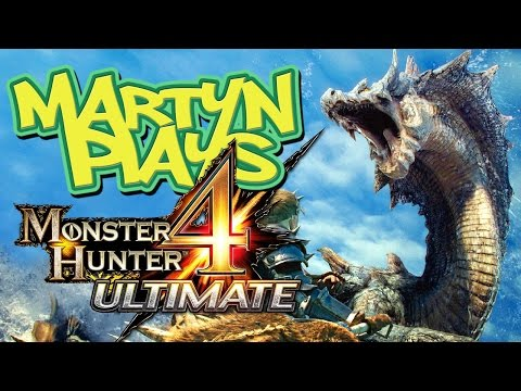 Martyn Plays: Monster Hunter 4 Ultimate (Demo)