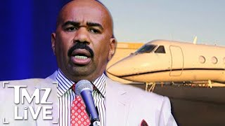 Steve Harvey Sued Over Customized Private Jet | TMZ Live