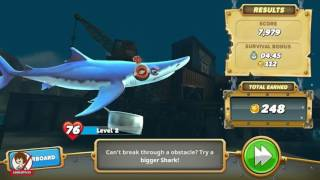 ► HUNGRY SHARK WORLD: #3 ★GAMEPLAY★ ESPAÑOL | TIBURÓNCIN AL ATAQUE
