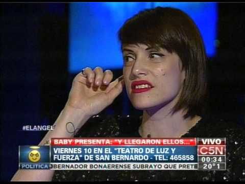 C5N - EL ANGEL DE LA MEDIANOCHE CON CONNIE ANSALDI Y EVELYN VON BROCKE