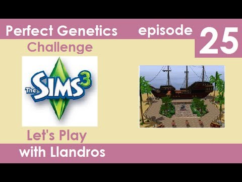 Let's Play The Sims 3 - Perfect Genetics Challenge - Episode 25