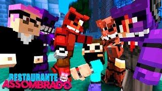 Minecraft: GUERRA DOS ANIMATRONICS! (Restaurante Assombrado 👻) #7 - mike -