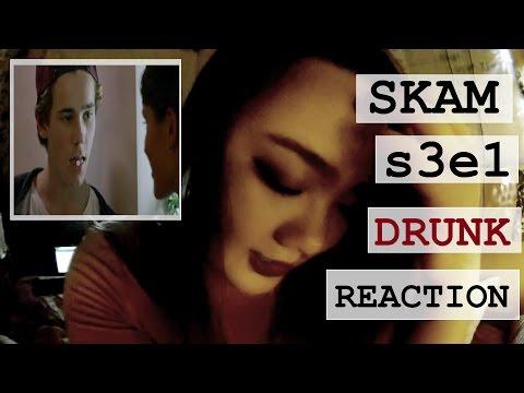 SKAM SEASON 3 // DRUNK REACTION TO EP 1 - ISAK X EVAN FIRST MEETING