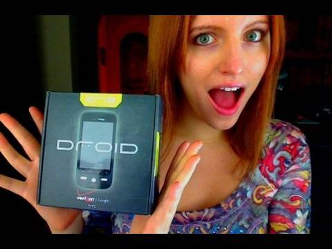 HTC Droid Eris - Android Phone Unboxing and Preview! Video