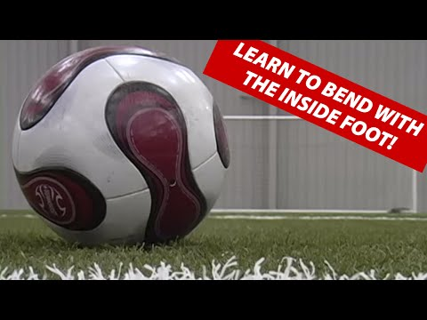 How To Bend The Soccer Ball Like David Beckham