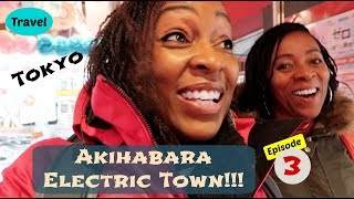 Akihabara Electric Town | Doing the MOST in Tokyo | Japan Day 3 Vlog