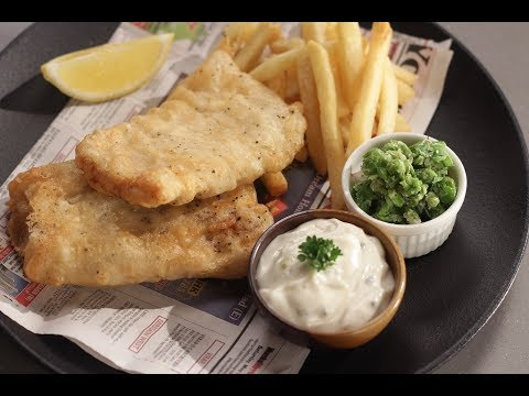 FIsh And Chips | Sanjeev Kapoor Khazana