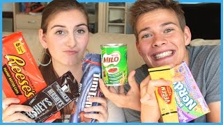 American VS. Australian Food - Challenge (German)