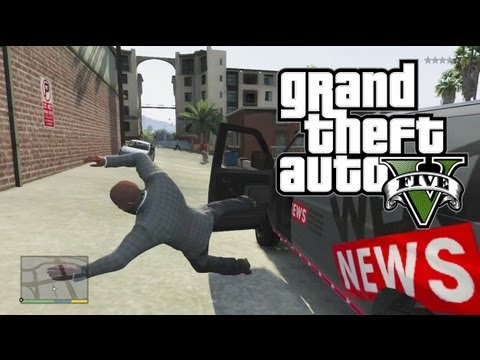 GTA 5 FUNNY MOMENTS MONTAGE #2 – RUNAWAY BUGATTI, CHEATS, WEAZEL NEWS! (GTA V Gameplay)