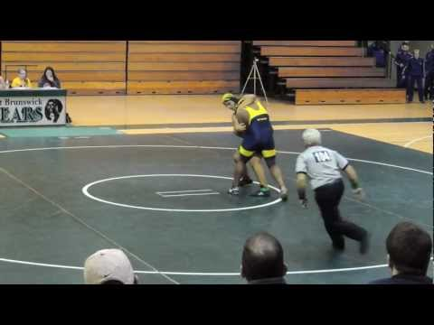 East Brunswick High School wrestling, Kevin Eid vs. Nottingham Wresting