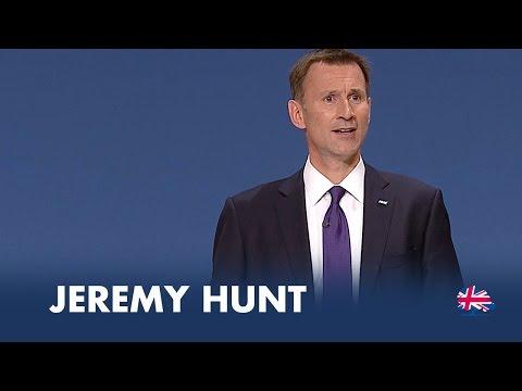 Jeremy Hunt: Speech to Conservative Party Conference 2014