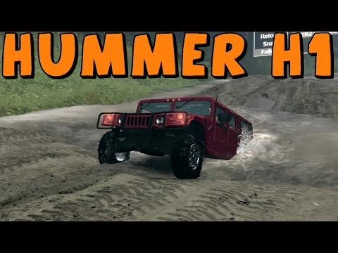 Spin Tires   Mod Review   Hummer H1 Alpha   Download Link In Description