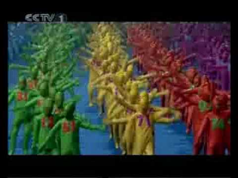 Beijing Paralympic Games opening ceremony part 1 北京2008残奥会开幕式
