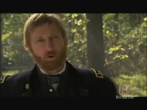 Bill Oberst Jr. in The History Channel's SHERMAN'S MARCH(2007)