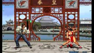 King of Fighters 2002 Gameplay