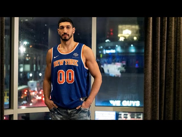 Turkish NBA player Enes Kanter misses out on basketball game in London amid safety concerns