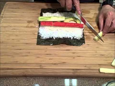California Roll How To Make California Rolls An Easy Sushi Recipe