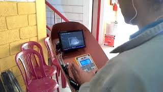 Vertical up welding with MeltTools DART camera and Uniarc tractor