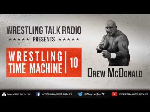 WTR 328 - Wrestling Time Machine - The Life & Times of Drew McDonald [Deutsch/German]