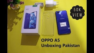 Oppo A5 Unboxing Pakistan | Oppo A5 First Look and Oppo A5 Price in Pakistan