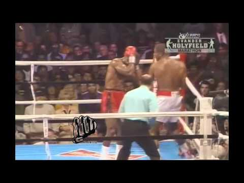 Evander Holyfield vs. Riddick Bowe - I - Highlights! *HD*