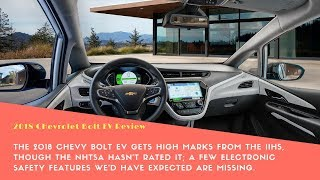 2018 Chevrolet Bolt EV Safety- Auto Review - Car Review - Phi Hoang Channel.