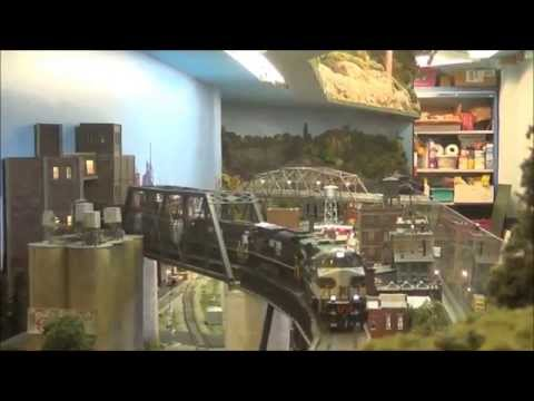 NS and N&W Class A Action at the CB&W Model Railroading Club