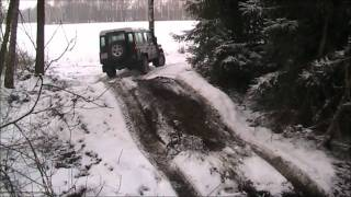 Land Rover Defender & Mitsubishi L200 (Skaszewo)