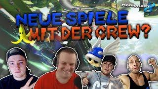 Neue Spiele mit der Crew? | Mario Kart 8 | feat. Monte, Flying Uwe, Solutionplayz