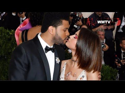 Selena Gomez, The Weeknd arrive at 2017 Met Gala thumbnail