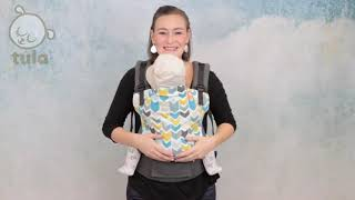 Tula Baby Carrier Front Carry Instructions   How to Use Baby Carrier