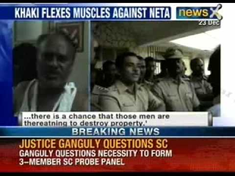 Marathi Manoos Gets A Slap On Face. Protesting Ganesh Gawde Slaps Ncp Leader Pramod Mohod video
