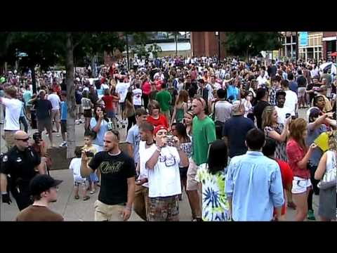 2011 Flash Freeze Mob - Knoxville, TN by Andy Armstrong