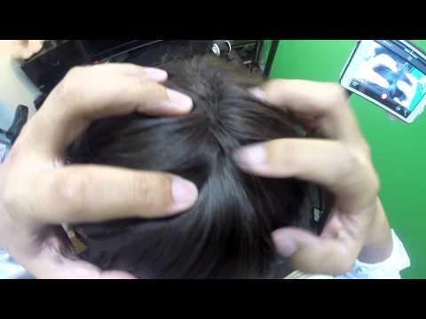 【音フェチ】ASMR~ヘッドマッサージ~Head Massage★binaural ASMR sounds for relaxation【音フェチ】