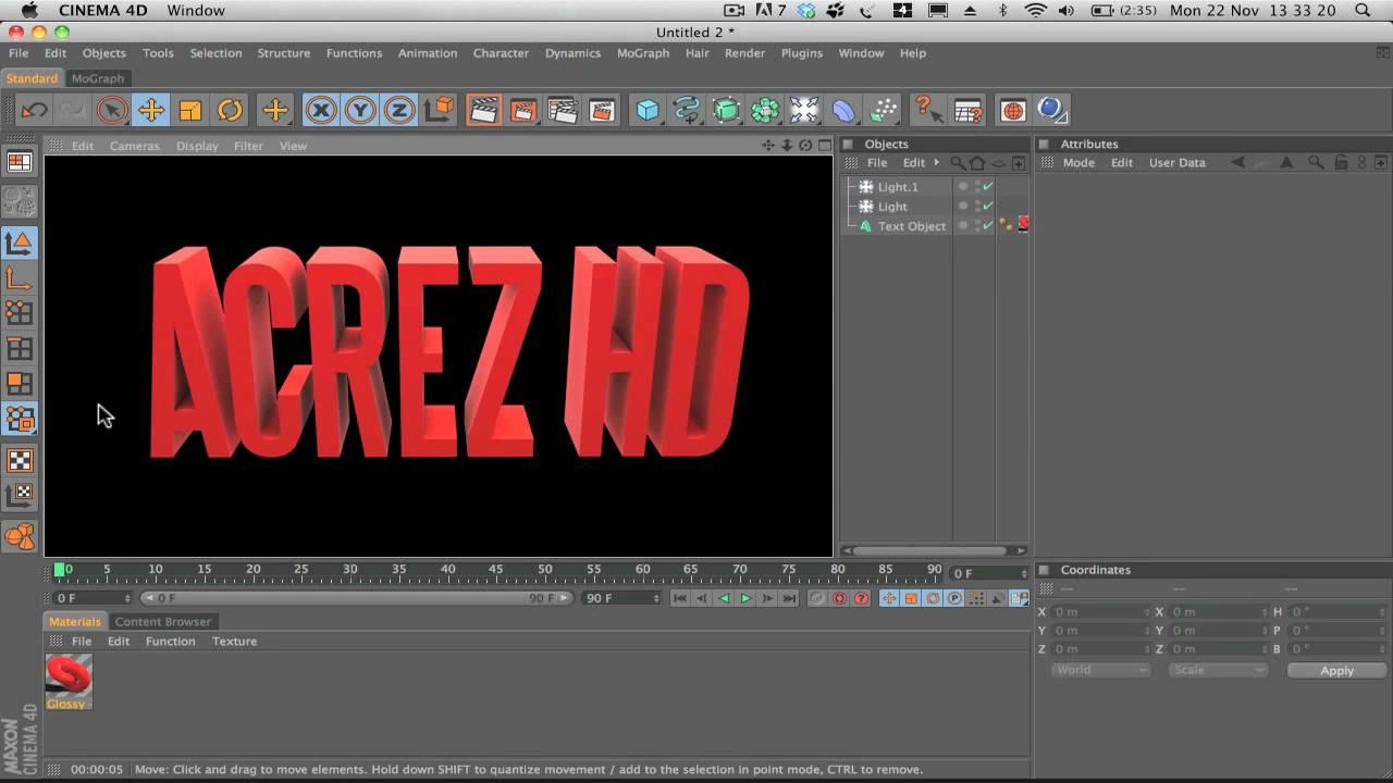 Professional 3d text cinema 4d download