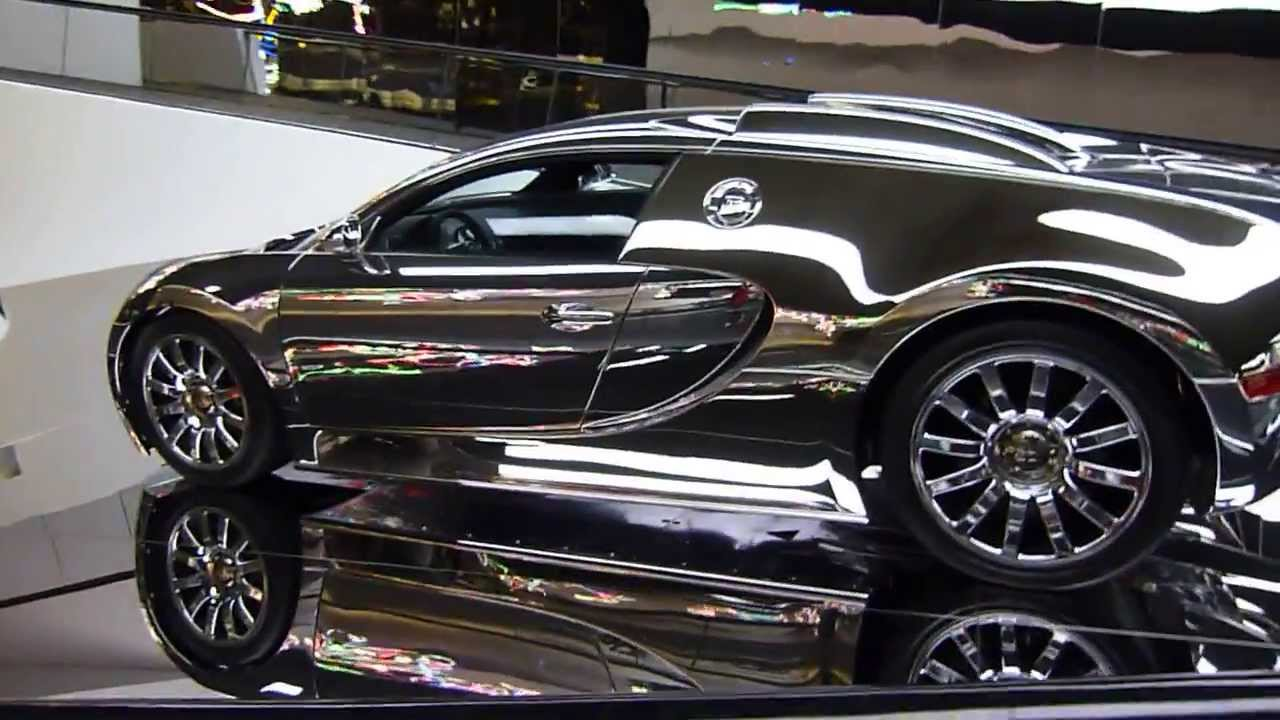 bugatti veyron in its temple in autostadt wolfsburg germany 2011 youtube. Black Bedroom Furniture Sets. Home Design Ideas