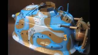 Schwebepanzer.Hover tank 1/35 scale model