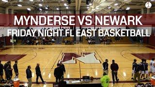 Mynderse Blue Devils at Newark Reds .::. FL1 Sports Finger Lakes East HS Basketball 1/19/19