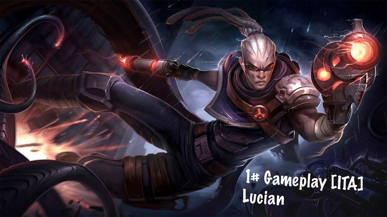 Lucian League of Legends Wallpaper League of Legends Lucian Adc