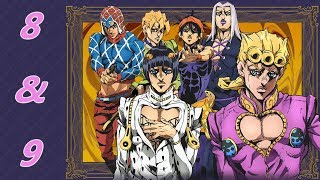 Anime Reactions W/Friend(s): Jojo's Bizarre Adventure Golden Wind- Episode 8 & 9