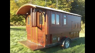 Building the Modern Vardo ( Gypsy Wagon)