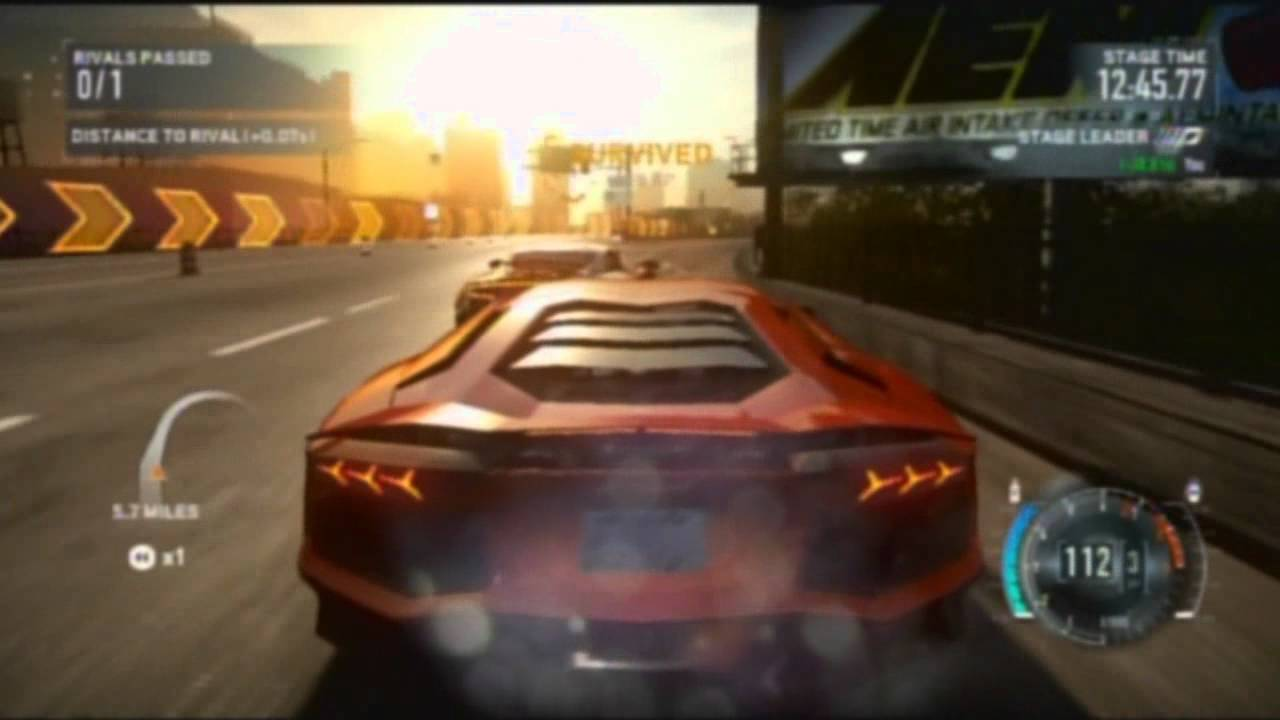 Cars In Final Race Of Need For Speed