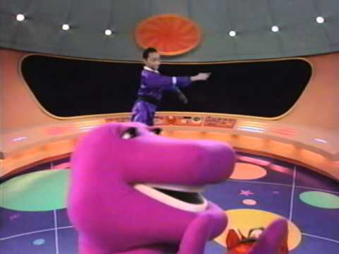 Barney in outer space preview youtube for Outer space studios