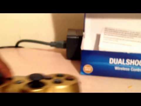 PS3 Metallic Gold Dualshock 3 controller Review
