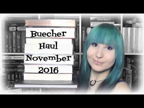 ★Bücher Haul★ Neuzugänge   November 2016