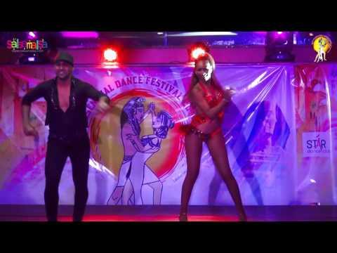 Fadi Fussion & Bersy Cortez Salsa Dance Performance | 1.EIDC