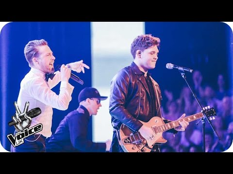 Ricky Wilson and Jolan perform 'Are You Gonna Go My Way': The Live Finals - The Voice UK 2016