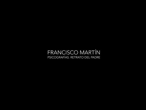 "Video Francisco Martín ""Psicografías retrato del padre"" 